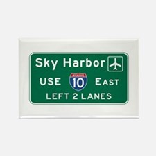 Sky Harbor, Phoenix Air Rectangle Magnet (10 pack)