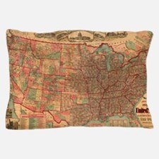 Cool Us history Pillow Case