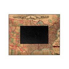 Unique Us map Picture Frame