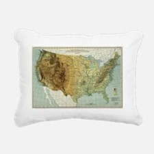 Funny Constitution of the united states Rectangular Canvas Pillow