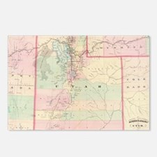 Unique Utah state Postcards (Package of 8)