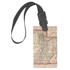 Funny Maps Luggage Tag