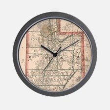 Unique Utah Wall Clock