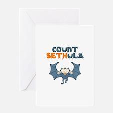 Count Sethula Greeting Card