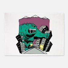 Rampage monster 5'x7'Area Rug