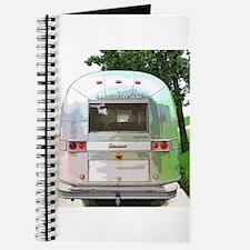 Vintage Airstream Pillow Journal