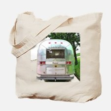 Vintage Airstream Pillow Tote Bag
