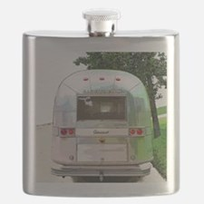 Vintage Airstream Pillow Flask