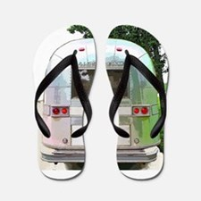Vintage Airstream Pillow Flip Flops