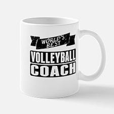 Worlds Best Volleyball Coach Mugs
