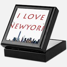 I Love Newyork Keepsake Box