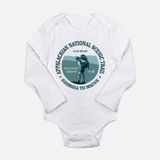 Cute Backpacking Long Sleeve Infant Bodysuit