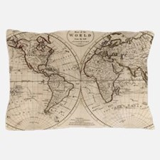 Maps and places Pillow Case