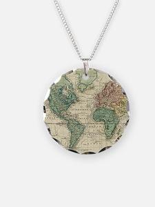 Cool Antique maps Necklace