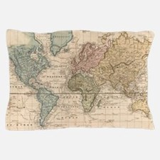 Cool Maps and places Pillow Case