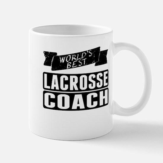 Worlds Best Lacrosse Coach Mugs