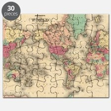 Cute World map Puzzle