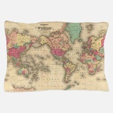 Cool World map Pillow Case