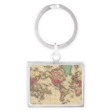 Funny Geography Landscape Keychain