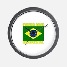 Ipanema Beach, Brazil Wall Clock