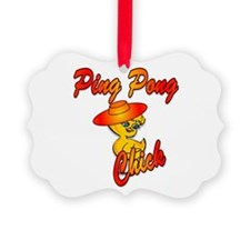 Ping Pong Chick #5 Ornament