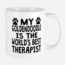 My Goldendoodle Is The Worlds Best Therapist Mugs