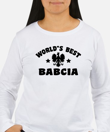 World's Best Babcia T-Shirt