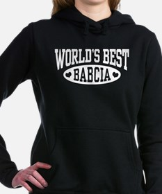 World's Best Babcia Women's Hooded Sweatshirt