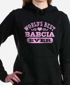 World's Best Babcia Ever Women's Hooded Sweatshirt