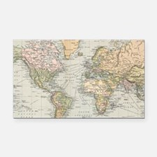 Cute Antique world map Rectangle Car Magnet