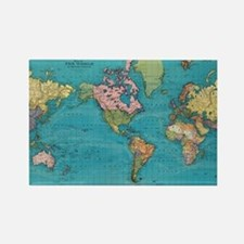 Cute Cartographers Rectangle Magnet