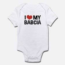I Love My Babcia Infant Bodysuit