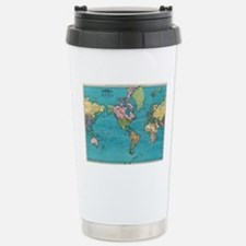 Unique Cartography Travel Mug