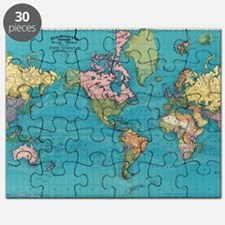 Funny World map Puzzle