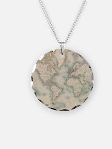 Antique maps Necklace