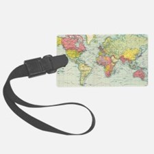 Cute World Luggage Tag