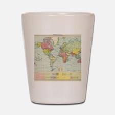 Cool Geography Shot Glass