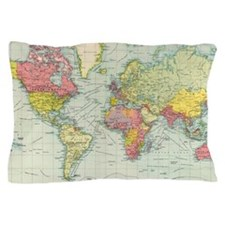 Cute Old world Pillow Case