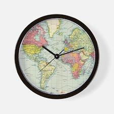 Cute World Wall Clock