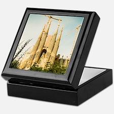 The Sagrada Familia temple with Catal Keepsake Box