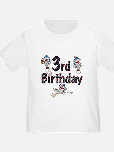 Baseball 3rd Birthday T