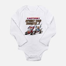 Cool Racing Long Sleeve Infant Bodysuit