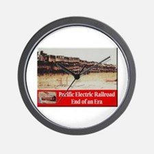 Pacific Electric Railroad Wall Clock