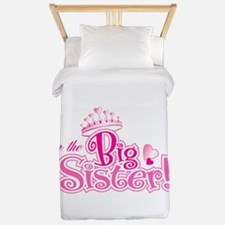 Curly Im The Big Sister Twin Duvet