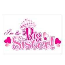 Curly Im The Big Sister Postcards (Package of 8)