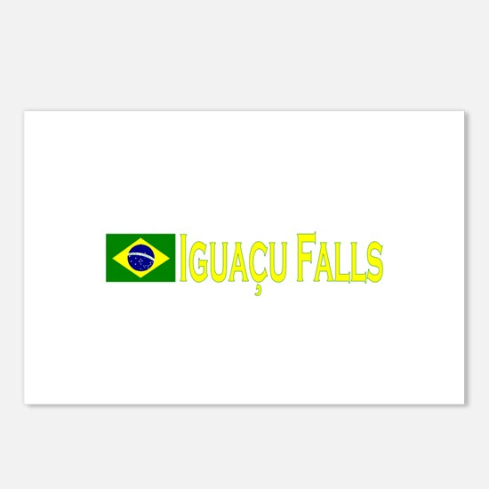 Iguacu Falls Postcards (Package of 8)