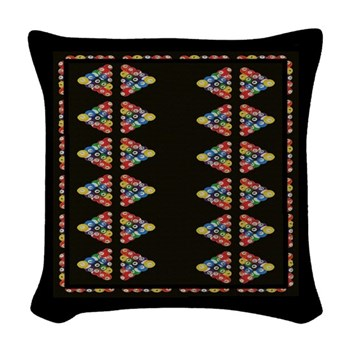 Game Room Throw Pillow by OTC Billiard Designs