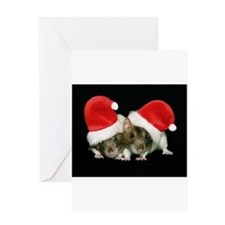 Cute Rat Greeting Card