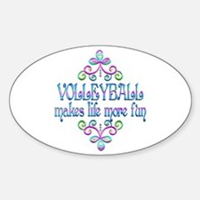 Volleyball Fun Decal