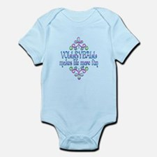 Volleyball Fun Infant Bodysuit